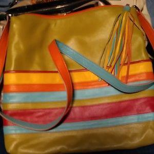 ili New York bag leather shoulderbag